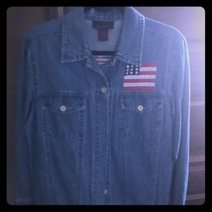 Denim and Co. Jean jacket